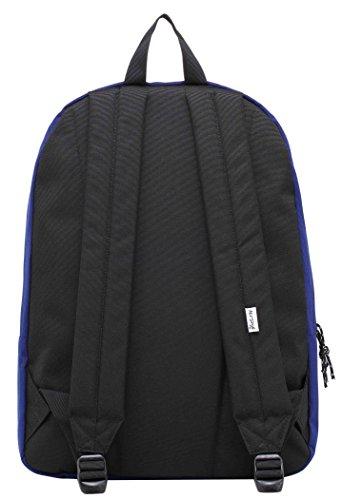 SIMPLAY Mochila Escolar Clásico | 44x30x12,5cm | Colores Variados | Turquesa D196A, Azul marino