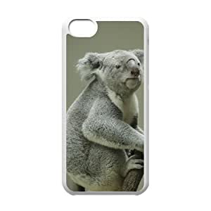 linJUN FENGProtection Cover Hard Case Of Koala Cell phone Case For iphone 5/5s