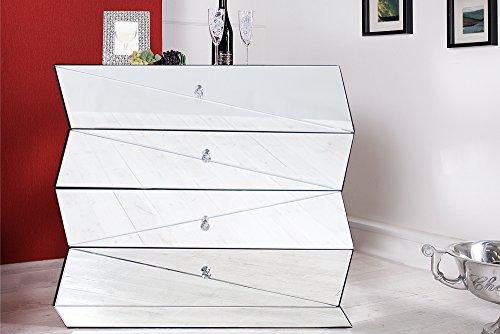 Invicta Interior Verspiegelte Design Kommode Vision 100 Cm Sideboard