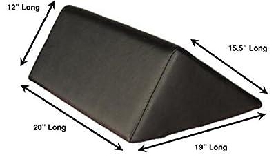 "Therapist's Choice® Triangle Massage Bolster Extra Large: 19"" x 12"" x 20"" x 15.5"""
