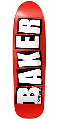 情熱的唯一追加Baker Brand Logo Cruiser – ホワイト – 8.5 in – スケートボードデッキ
