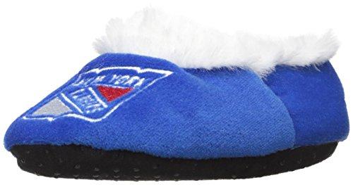 New York Rangers Logo Baby Bootie Slipper Large - Licensed Baby Slipper