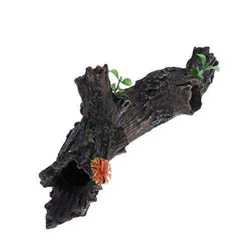 Baosity Aquarium Ornament Driftwood Safe Tree Trunk for Fish Tank Landscaping decoration