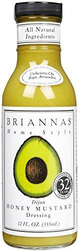 Brianna's Mustard - Dijon Honey - 12 OZ (Mustard Dip)