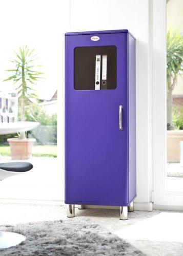 Vitrine / Schrank Malibu 5111 in violet von Tenzo: Amazon.de ...