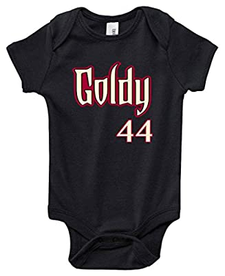 "Arizona Diamondbacks Paul Goldschmidt ""GOLDY LOGO"" Baby 1 piece"