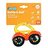 Bright Starts Easy Grasp Push Vehicle Toy - Ages