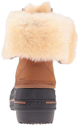 Crocs Damen AllCast II Luxe Snow Boot Weizen