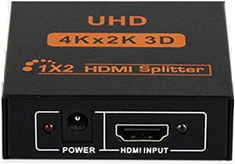 YPSMLYY Divisor HDmi HD 1 En 2 Salidas 4K * 2K Calidad HD Efectos ...