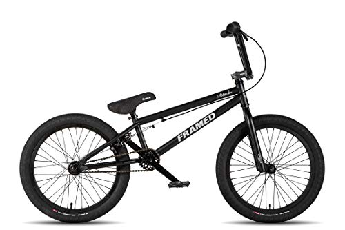 Framed Attack Pro BMX Bike Black/Silver Sz 20in