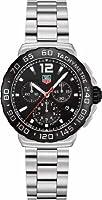 TAG Heuer Men's CAU1110.BA0858 Formula 1 Black Dial Chronograph Steel Watch by TAG Heuer