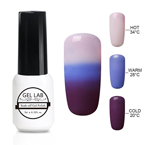 GEL LAB UV LED Thermal Temperature Color Changing Gel Nail P