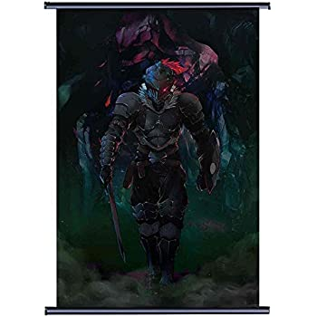 futurecos Goblin Slayer Wall Scroll Poster Fabric Painting Home Decor Anime Scroll Painting 23.6 * 35.4 Inch (60cm*90 cm)