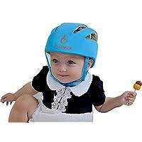 ELENKER Baby Children Infant Adjustable Safety Helmet Headguard Protective Ha...