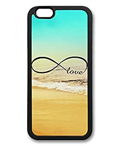 Beach Infinity Love Theme Iphone 6 Case TPU Material (4.7inch)