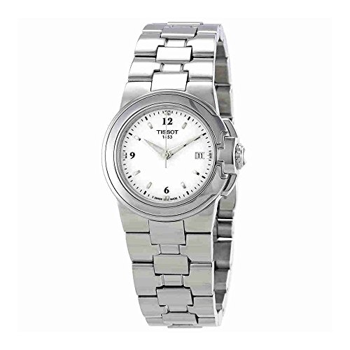Tissot Women's  'T Sport' White Dial Stainless Steel Quartz Watch T080.210.11.017.00