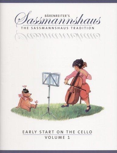 Sassmannshaus, Kurt - Early Start on the Cello Book 1 Published by Baerenreiter Verlag