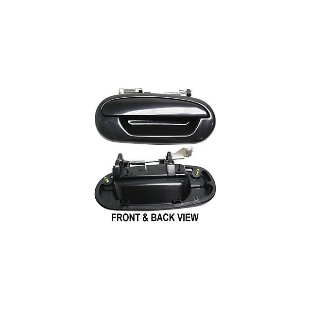 FORD F 150 PICKUP 97 04 REAR DOOR HANDLE RH, Outside, Smooth Black, Crew Cab