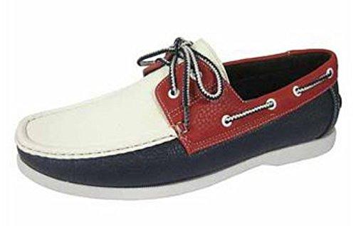 Lacets de chaussures-Bateau - multicouleur - Navy/Red/White, 43