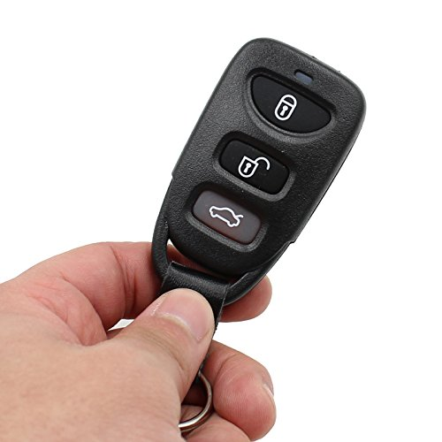 For Hyundai Elantra Accent Sonata 4 Buttons New Remote Entry key fob Keyless case shell No Chips (Just a Empty Key Shell, No Chips Inside)
