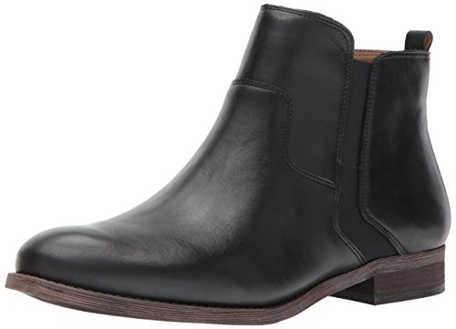 Franco Sarto Women's Hampton, Black, 7.5 M US (Leather Women Boots Sarto Franco)
