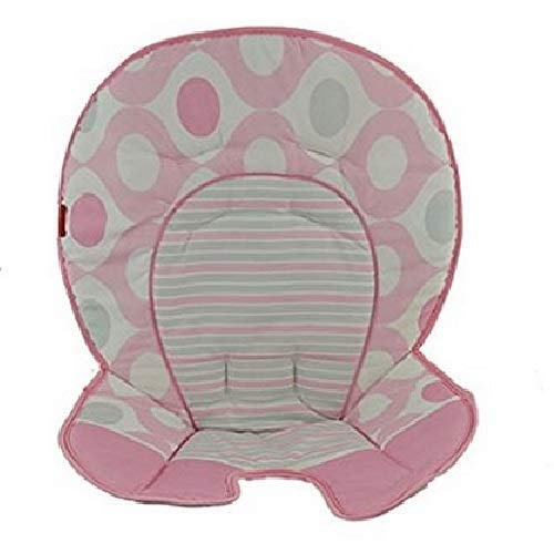 Fisher Price Space Saver High Chair Replacement (DKR71 PINK ELLIPSE PAD) (Space Saver High Chair Cover)