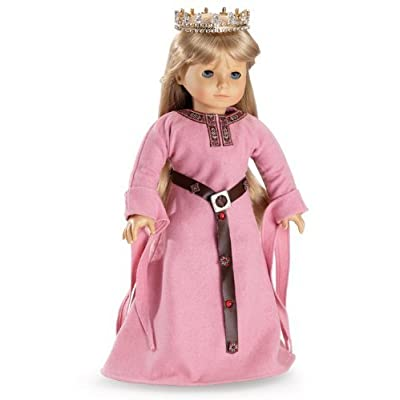 "English Princess Outfit fits 18"" American Girl Dolls: Toys & Games"
