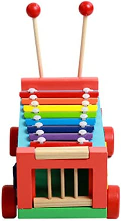 Demarkt Wooden Musical Toys Xylophone for Kids Baby Musical Instruments Educational Sound Toy