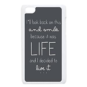 iPod Touch 4 Case White Ed Sheeran Quotes BNY_6858918