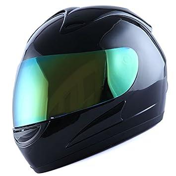 WOW Motorcycle Full Face Helmet Street Bike Racing Star Pink