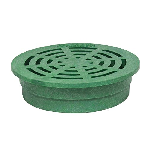 Storm Drain FSD-080-R 8'' Round Drain Grate - Green by Storm Drain