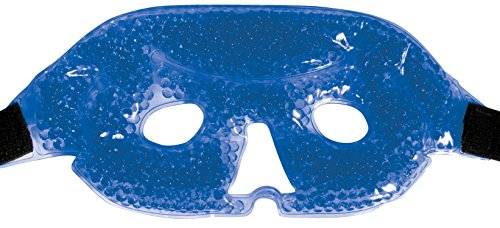 Eye Mask for Puffy Eyes - Reuseable Therapeutic Gel Beads Hot Cold Non Toxic Spa Therapy Wrap - Use Cool or Heated Compress for Swollen Eyes Relief and Relaxation Perfect - Or Warm Cool Is My Skin