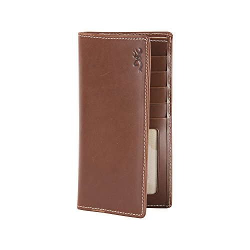 Browning Men's Tri-Fold Executive Wallet Brown One Size (Signature Billfold Leather)