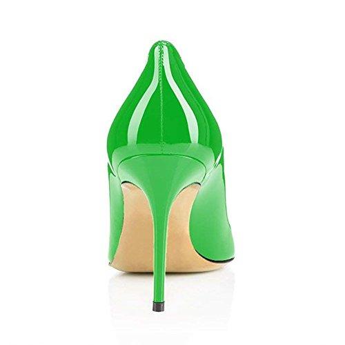 Tacco Alti Tacchi Verde a mm con Caitlin Suola Spillo da 85 e Eleganti Pan Donnacarpe Rossa zwx1q4I
