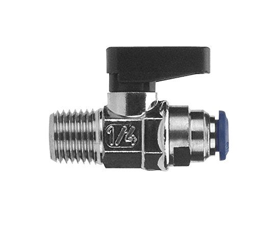 AIGNEP USA 86330-53-02 Ball Valve Nickel Plated Brass 5//32 Tube x 1//8 Male NPTF Thread