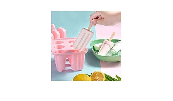 Compra YLL Popsicle Mold Set 6 Piezas de Popsicle del Molde Reutilizable Helado del Molde Pueden Lavar en ...