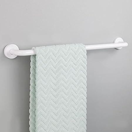 /61/cm Handtuchstange InterDesign Handtuchhalter f/ür die Wand / 6er Pack wei/ß