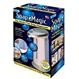 Soap Magic Hands Free Soap Dispenser (White)