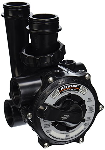 - Hayward SP0710X62 Pro-Series Vari-Flo Replacement 1-1/2-Inch Control Valve Assembly with Gauge