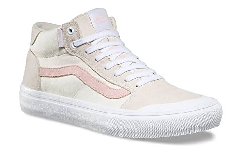 a2859528cf Galleon - Vans Style 112 Mid Pro Sneakers Men s Canvas Suede Skate Shoes  Dsnlu Birch Pearl Size 10.5