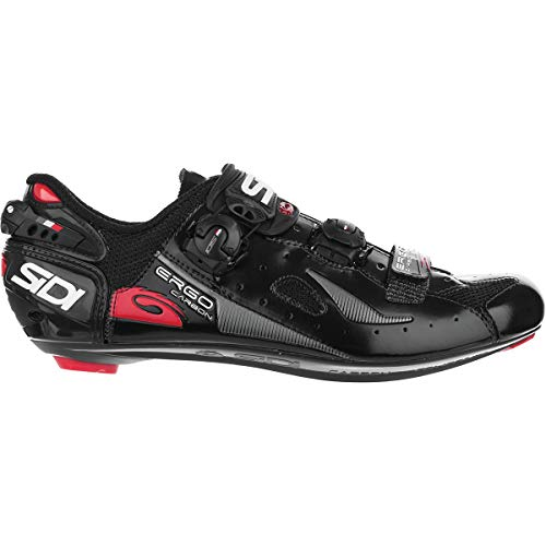 Sidi Ergo 4 Carbon Cycling Shoe - Men's Black, 45.0