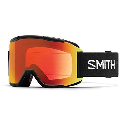 Smith Optics Adult Squad Snow Goggles Black Frame/ChromaPop Everyday Red - Medium Frame