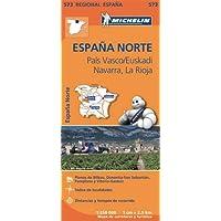 Carta stradale. Spagna/Paesi Baschi-Navarra