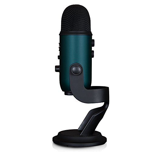 Blue Microphones Yeti Teal USB Microphone with Studio Headphones and Knox Pop Filter by Blue Microphones (Image #2)