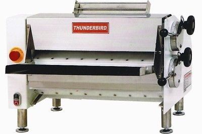 Two-Pass, Pizza Dough Roller Dough Sheets from 5'' up 20'' (in diameter) by Thunderbird