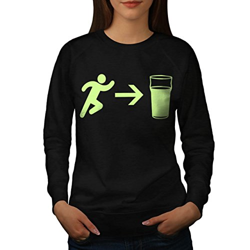 exit-beer-needs-me-women-new-s-sweatshirt-wellcoda