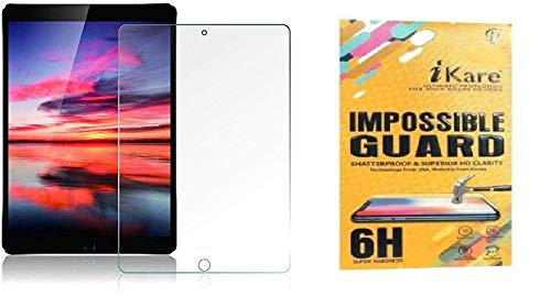 ikare Impossible Tempered Screen Guard for Apple ipad 7  10.2 INCHES  2019 Release  Transparent Screen guards