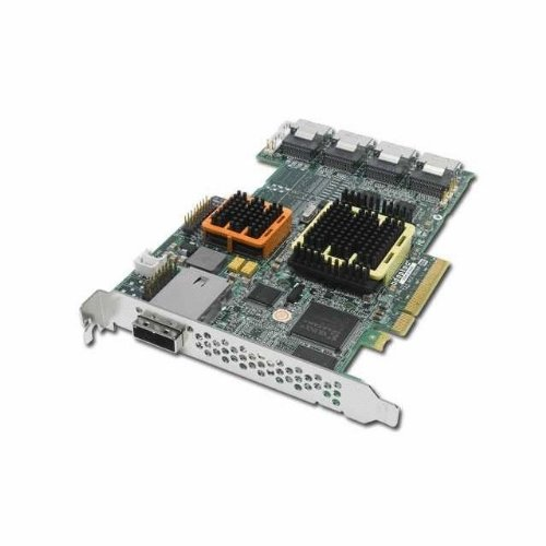 Adaptec 2258500-R 51645 RAID 16-Internal X 4-Channel 512MB PCI-Express SATA/SAS Kit with Cable by Adaptec