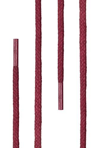 resistenti nbsp;mm cerati lacci Ficchiano agli diametro lunghezza 120 rotondi scarpe pelle eleganti scarpe e strappi Rosso premium Di 3 45 per Vivo 2 lacci nbsp;cm in EAandqqx1