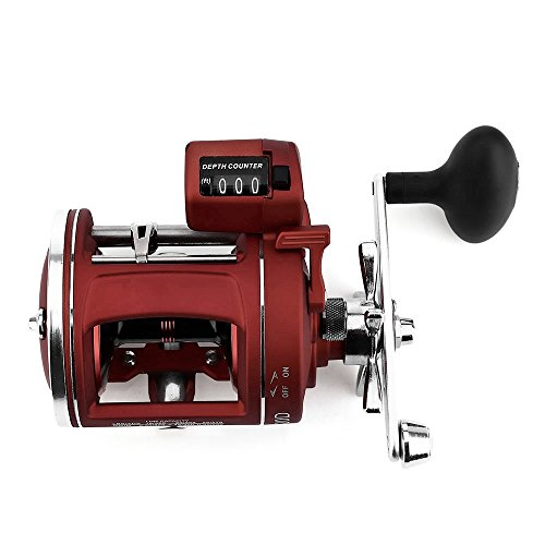 - Smartlife Spinning Reel 12 Ball Bearings Light Weight Ultra Smooth Spinning Fishing Reels with Electric Depth Counting for Saltwater Freshwater Fishing(Right Hand)